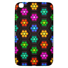 Pattern Background Colorful Design Samsung Galaxy Tab 3 (8 ) T3100 Hardshell Case