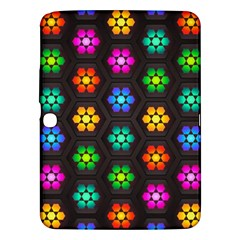 Pattern Background Colorful Design Samsung Galaxy Tab 3 (10 1 ) P5200 Hardshell Case
