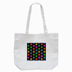 Pattern Background Colorful Design Tote Bag (white)