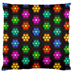 Pattern Background Colorful Design Standard Flano Cushion Case (one Side)