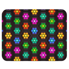 Pattern Background Colorful Design Double Sided Flano Blanket (medium)
