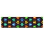 Pattern Background Colorful Design Satin Scarf (Oblong) Front