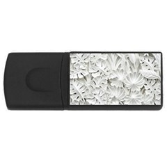 Pattern Motif Decor USB Flash Drive Rectangular (2 GB)