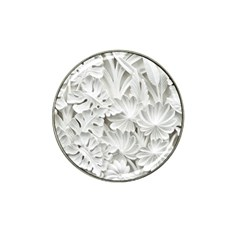 Pattern Motif Decor Hat Clip Ball Marker (4 Pack)