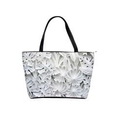 Pattern Motif Decor Shoulder Handbags