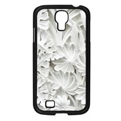 Pattern Motif Decor Samsung Galaxy S4 I9500/ I9505 Case (black)