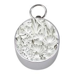 Pattern Motif Decor Mini Silver Compasses