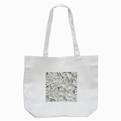 Pattern Motif Decor Tote Bag (white)
