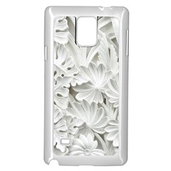 Pattern Motif Decor Samsung Galaxy Note 4 Case (white)