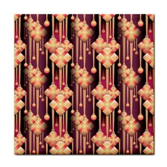 Seamless Pattern Tile Coasters