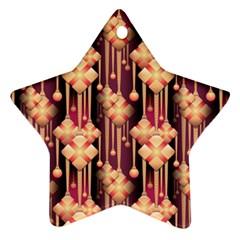 Seamless Pattern Ornament (star)
