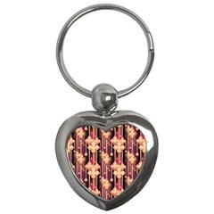 Seamless Pattern Key Chains (heart)