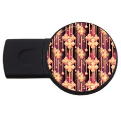 Seamless Pattern Usb Flash Drive Round (2 Gb)