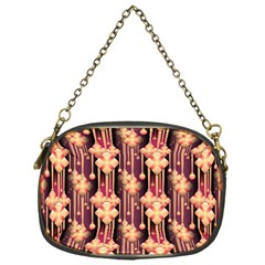 Seamless Pattern Chain Purses (one Side)