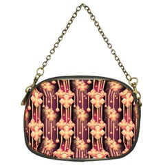 Seamless Pattern Chain Purses (two Sides)