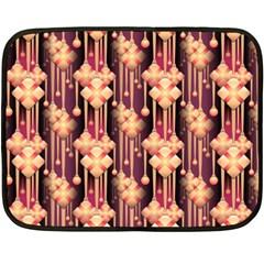Seamless Pattern Double Sided Fleece Blanket (Mini)