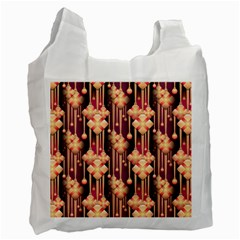 Seamless Pattern Recycle Bag (one Side)