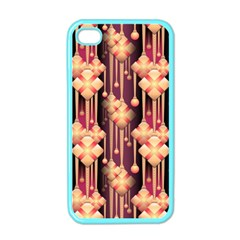 Seamless Pattern Apple Iphone 4 Case (color)