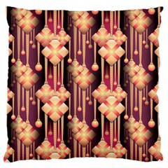 Seamless Pattern Large Cushion Case (two Sides)