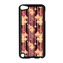 Seamless Pattern Apple Ipod Touch 5 Case (black)