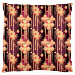 Seamless Pattern Large Flano Cushion Case (one Side)