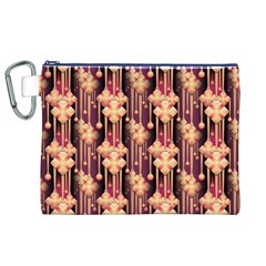 Seamless Pattern Canvas Cosmetic Bag (xl)