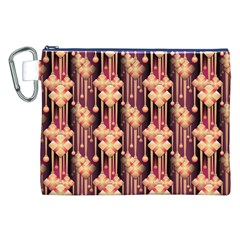 Seamless Pattern Canvas Cosmetic Bag (xxl)