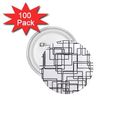 Structure Pattern Network 1 75  Buttons (100 Pack)