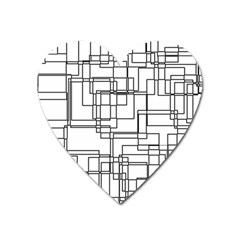 Structure Pattern Network Heart Magnet