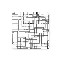 Structure Pattern Network Square Magnet