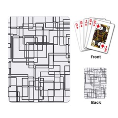 Structure Pattern Network Playing Card