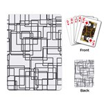 Structure Pattern Network Playing Card Back
