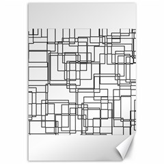 Structure Pattern Network Canvas 12  X 18