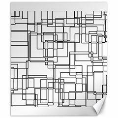 Structure Pattern Network Canvas 20  X 24