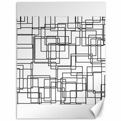 Structure Pattern Network Canvas 36  X 48