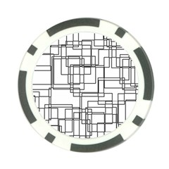 Structure Pattern Network Poker Chip Card Guards
