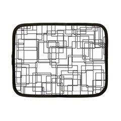 Structure Pattern Network Netbook Case (small)