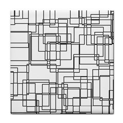 Structure Pattern Network Face Towel
