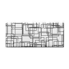 Structure Pattern Network Cosmetic Storage Cases