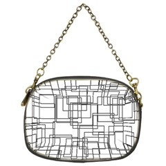 Structure Pattern Network Chain Purses (two Sides)