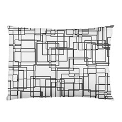 Structure Pattern Network Pillow Case