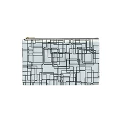 Structure Pattern Network Cosmetic Bag (small)