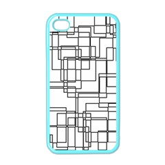 Structure Pattern Network Apple Iphone 4 Case (color)