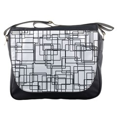 Structure Pattern Network Messenger Bags