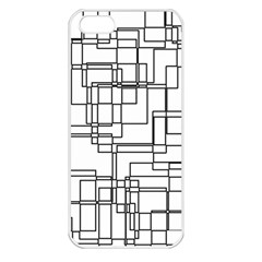 Structure Pattern Network Apple Iphone 5 Seamless Case (white)