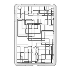Structure Pattern Network Apple Ipad Mini Case (white)