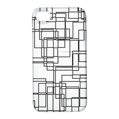 Structure Pattern Network Apple Iphone 4/4s Hardshell Case With Stand