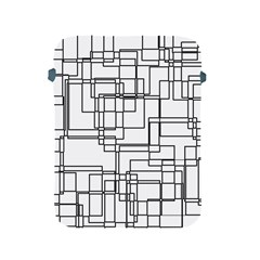 Structure Pattern Network Apple Ipad 2/3/4 Protective Soft Cases