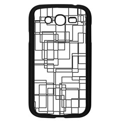 Structure Pattern Network Samsung Galaxy Grand Duos I9082 Case (black)