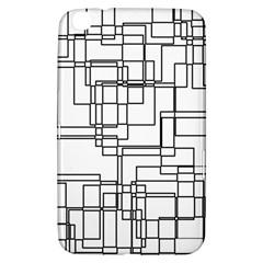Structure Pattern Network Samsung Galaxy Tab 3 (8 ) T3100 Hardshell Case